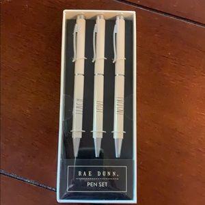 Rae Dunn teacher gift pen set new